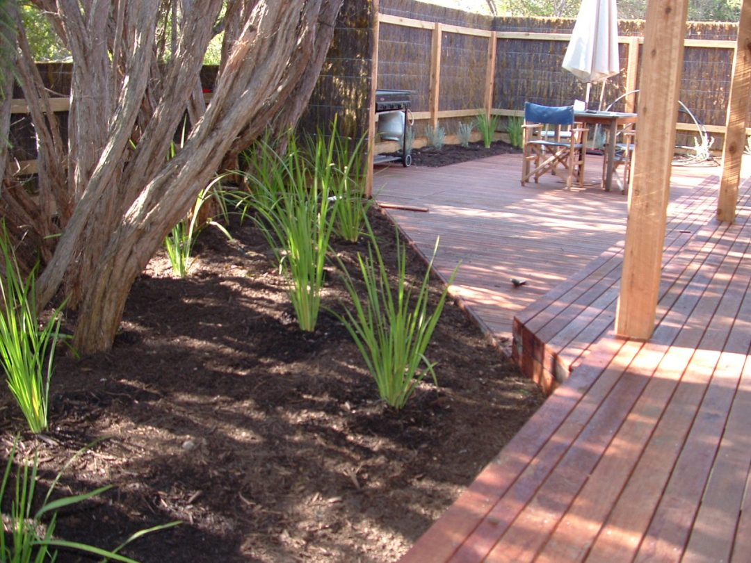 Rye holiday house landscaping makeover